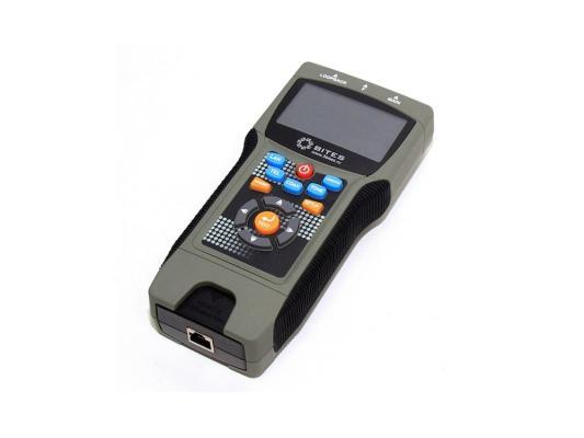 Тестер кабеля многофункциональный 5bites LY-CT030 PRO для RJ45/11/12, FTP, BNC, рефлектометр TDR тестер кабеля 5bites ly ct018 для rj45 11 12 трассоискатель генератор частот