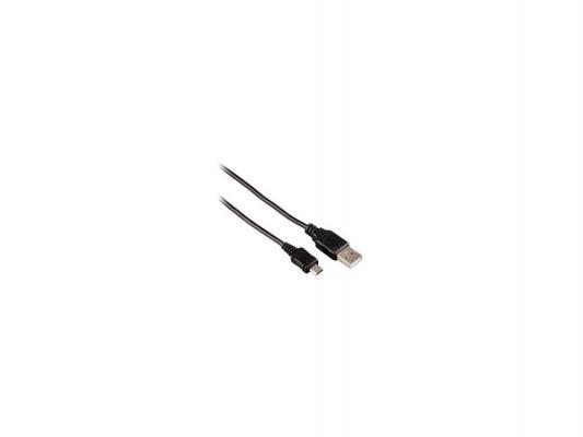 Кабель USB 2.0 A-micro B 1.1м черный Hama H-106618
