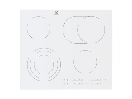 Варочная панель электрическая Electrolux EHF96547SW белый варочная панель электрическая electrolux ehh96340iw белый