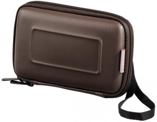 Чехол для HDD 2.5 Hama H-95524 Eva коричневый аксессуар чехол hama h 95507 neoprene red hdd 2 5