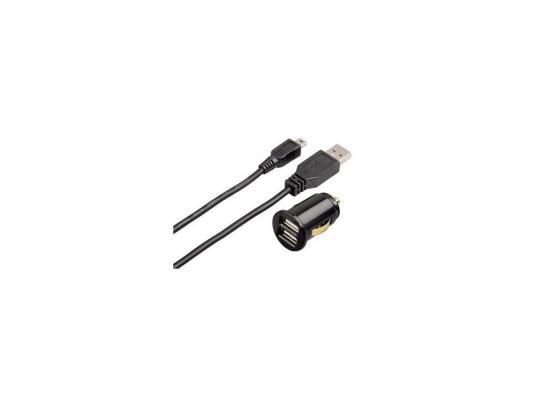 Зарядное устройство Hama H-93772 для навигаторов USB mini-USB 5В/2А черный от 123.ru