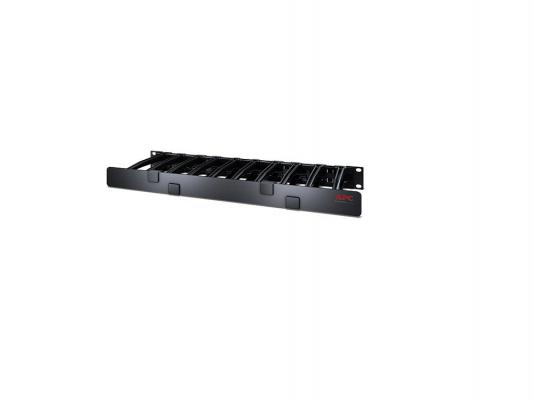 Кабельный органайзер APC 1U Horizontal Cable Manager Single Side with Cover AR8612 цена