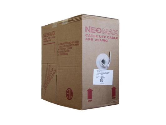 Кабель Neomax UTP категория 5e 4 пары 305м NM11001 цена и фото