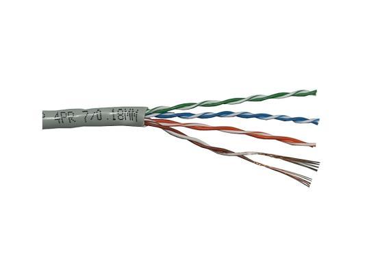 все цены на Кабель Neomax UTP категория 5e 4 пары 305м NM13001 онлайн