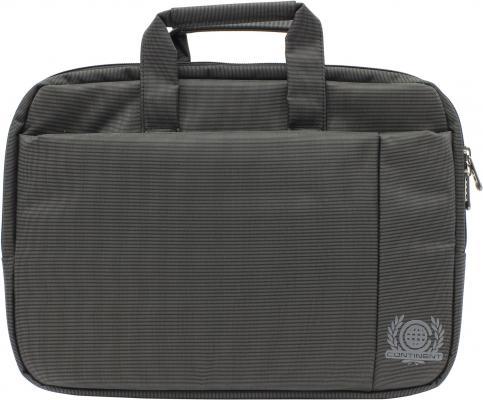 """Сумка для ноутбука 15.6"""" Continent CC-215 BK полиэстер черный"""