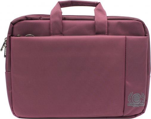"""Сумка для ноутбука 15.6"""" Continent CC-215 PP полиэстер розовый"""