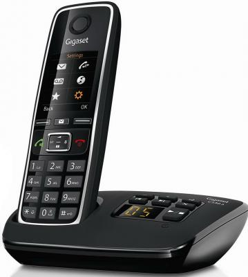 Радиотелефон DECT Gigaset C530A черный радиотелефон dect gigaset e630h черный