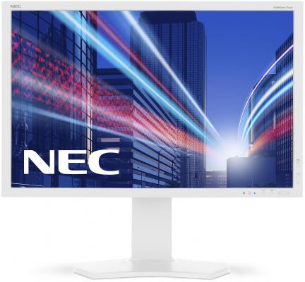 Монитор 24 NEC MultiSync P242W монитор 24 nec multisync p242w black ah ips 1920x1200 8ms vga dvi hdmi displayport