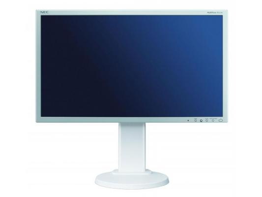 Купить Монитор 23 NEC E231W серебристый белый TN LED 1920x1080 1000:1 250cd/m^2 5ms DVI DP