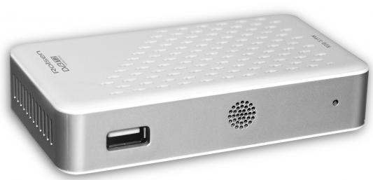 Тюнер цифровой DVB-T2 Rolsen RDB-519W HDMI SPDIF белый