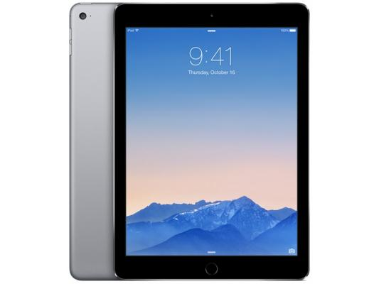 "Планшет Apple iPad Air 2 128Gb 9.7"" 2048x1536 A8X GPS IOS Space Gray серый MGTX2RU/A"