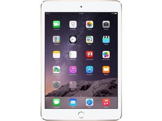 "Планшет Apple iPad Air 2 128Gb Cellular 9.7"" 2048x1536 A8X GPS IOS Gold золотой MH1G2RU/A"