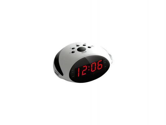 Часы с радиоприемником Rolsen CR-170W белый