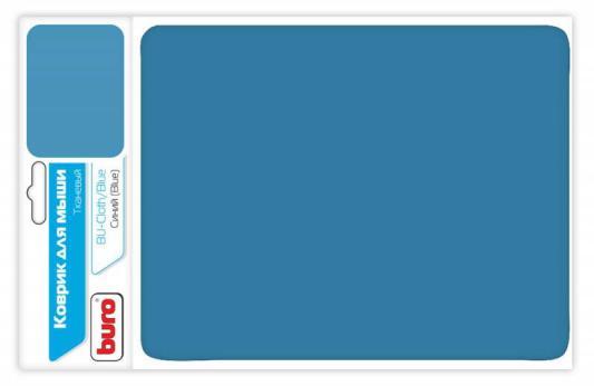 Коврик для мыши Buro BU-CLOTH/blue ткань синий