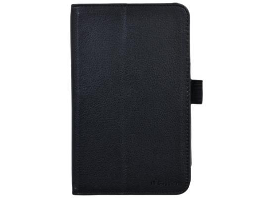 Чехол IT BAGGAGE для планшета Asus MeMO Pad 7 ME176 искуственная кожа черный ITASME1762-1 чехол для планшета it baggage для memo pad 8 me581 черный itasme581 1 itasme581 1