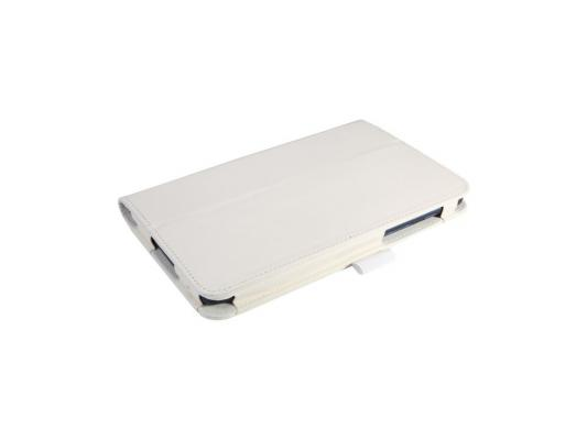 "Чехол IT BAGGAGE для планшета Lenovo Tab A7-50 A3500 7"" искуственная кожа белый ITLNA3502-0"