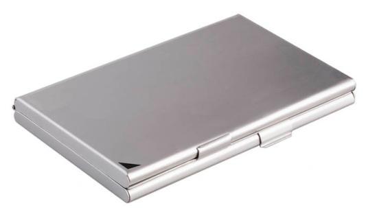 Визитница Durable 243323 20 шт серебристый