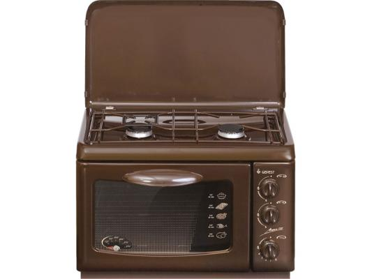 Газовая плита Gefest ПГ 100 K19 коричневый цена и фото
