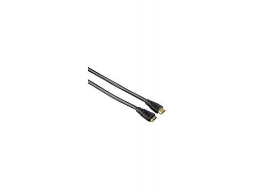 Кабель HDMI 3.0м Hama позолоченные контакты черный H-83093 HDMI( m) - HDMI( f)