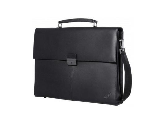 "Сумка для ноутбука 14.1"" Lenovo Executive Leather кожа черный 4X40E77322 цена и фото"