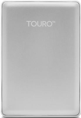 """Внешний жесткий диск 2.5"""" USB3.0 500 Gb Hitachi Touro HTOSEC5001BDB 0S03734 серебристый"""