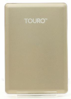 """Внешний жесткий диск 2.5"""" USB3.0 500 Gb Hitachi Touro HTOSEC5001BGB 0S03758 золотистый"""