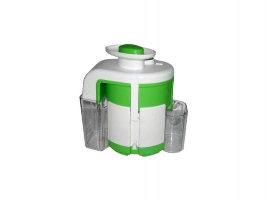 Соковыжималка МЭЗ Журавинка СВСП 102П 120 Вт пластик белый зелёный