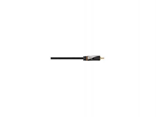 Кабель соединительный 2.0м Hama Avinity RCA (M) - RCA (M) позолоченные контакты черный H-107503