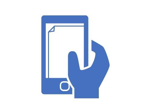 Наклейка пленки или стекла на смартфон смартфон