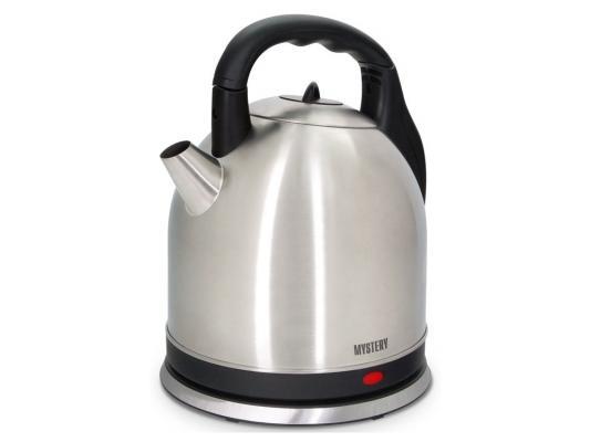 купить Чайник MYSTERY MEK-1635 2000 Вт 3.5 л металл серебристый недорого