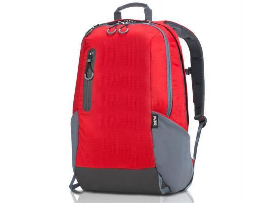 "Рюкзак для ноутбука 15.6"" Lenovo ThinkPad Active large нейлон красный 4X40E77336"