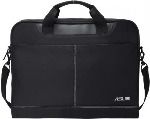 Сумка для ноутбука 16 ASUS Nereus Carry Bag 16 полиэстер черный 90-XB4000BA00010- сумка для ноутбука asus eos shoulder bag 12