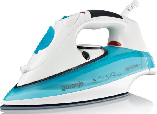 лучшая цена Утюг Gorenje SIH 2200TC 2200Вт бело-синий