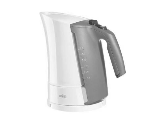 Чайник Braun WK 500 3000Вт 1.7л белый чайник электрический braun wk 500 onyx