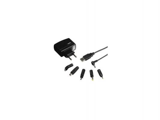 Зарядное устройство Hama H-86045 для навигаторов 110-240В 1А 6 коннекторов от 123.ru