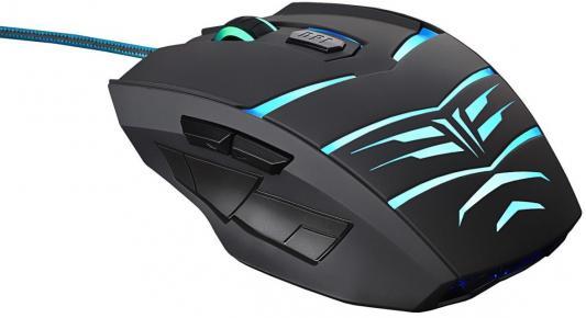 лучшая цена Мышь проводная Oklick 745G чёрный USB 866475