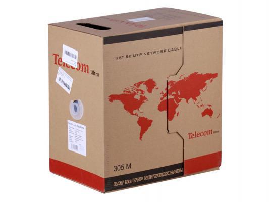 все цены на Кабель Telecom Ultra UTP TUM34102E-BL 4 пары кат 5е 305м синий