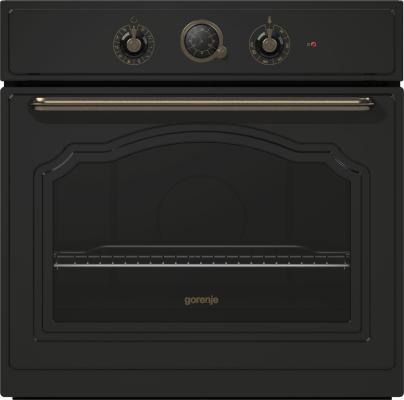 Электрический шкаф Gorenje BO73CLB черный электрический шкаф gorenje bo658orab черный