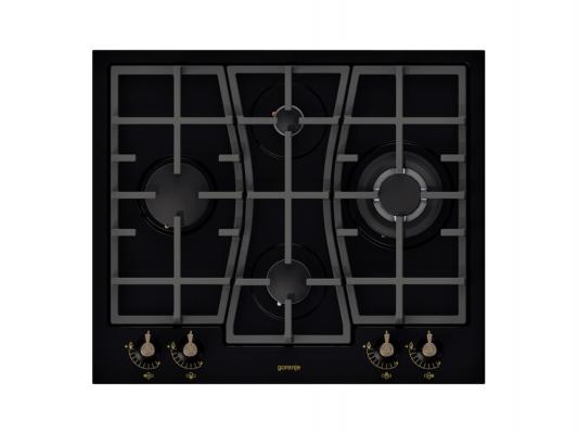 Картинка для Варочная панель газовая Gorenje GW65CLB черный