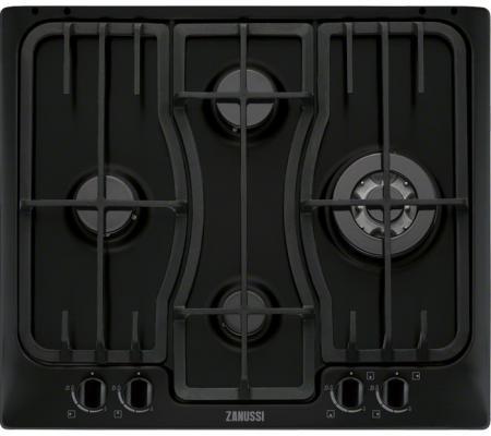 Варочная панель газовая Zanussi ZGX 566424 B черный