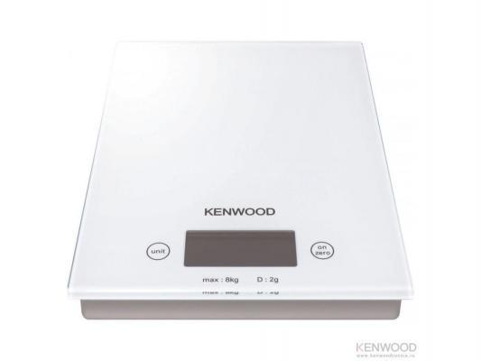 Весы кухонные Kenwood DS 401 белый