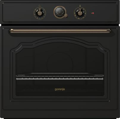 Электрический шкаф Gorenje BO53CLB черный электрический шкаф gorenje bo658orab черный