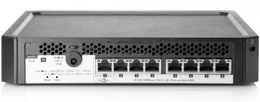 Коммутатор HP PS1810-8G управляемый 8 портов 10/100/1000BASE-T J9833A коммутатор hp e1910 8 poe управляемый 8 портов 10 100mbps poe jg537a