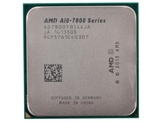 Процессор AMD A10 X4 7800 3.5GHz 4Mb AD7800YBI44JA Socket FM2 OEM процессор amd a4 4000 ad4000okhlbox socket fm2 box