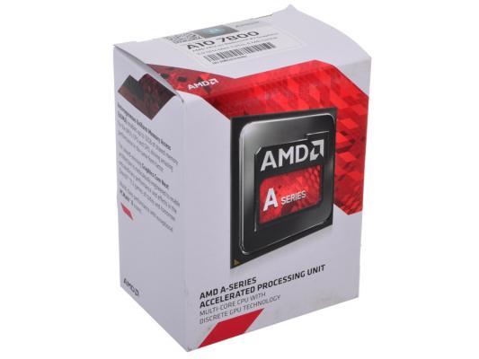 Процессор AMD A10 X4 7800 3.5GHz 4Mb AD7800YBJABOX Socket FM2 BOX процессор amd a10 7800 oem socket fm2 ad7800ybi44ja
