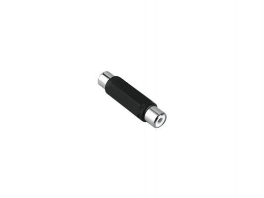 Адаптер Hama RCA (f) - RCA (f) черный 00122371