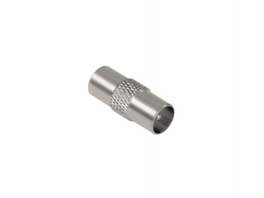 Адаптер Hama антенный коаксиальный (m-m) металлический 00122483