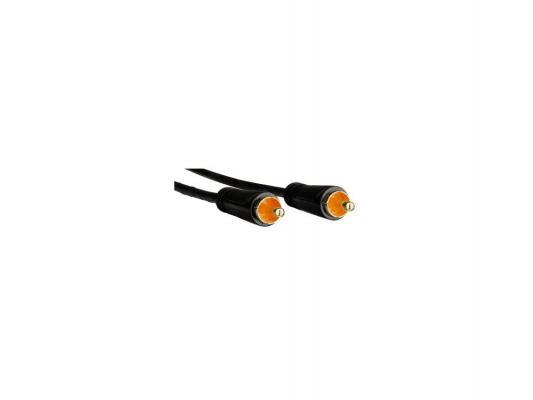 Кабель соединительный 3.0м Hama RCA(m)-RCA(m) 3зв позолоченные контакты digital черный 00122267