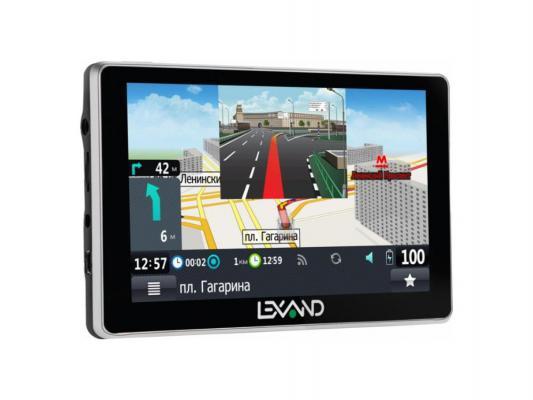 """Навигатор LEXAND SA5 HD 5"""" 800х480 4Gb microSD черный Navitel"""