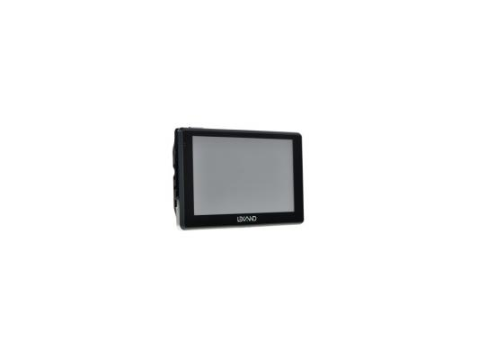 Навигатор LEXAND SA5 HD+ 5 800x480 4Gb microSD черный Navitel gps навигатор lexand sa5 hd 5 авто 4гб navitel 8 7 с расширенным пакетом картографии черный